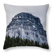 Mt Chephern  Throw Pillow by Adnan Bhatti