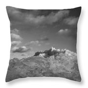 Mt. Chilly Throw Pillow