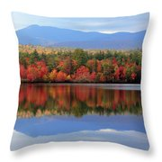 Mt. Chocorua Reflections I Throw Pillow