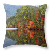 Mt. Chocorua Reflections II Throw Pillow