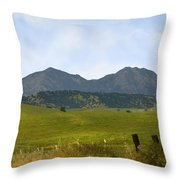 Mt. Diablo Mcr2 Throw Pillow