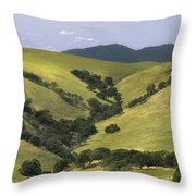 Mt. Dibalo  Throw Pillow