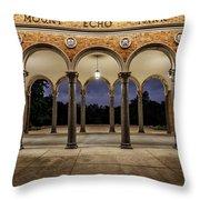 Mt Echo Pavilion Throw Pillow