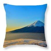 Mt. Fugi Throw Pillow