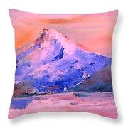 Mt Hood 04 Throw Pillow