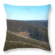 Mt Hotham In Early April Throw Pillow