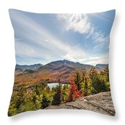 Mt. Joe, Adirondacks  Throw Pillow