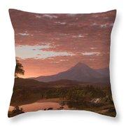 Mt Katahdin Throw Pillow