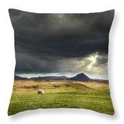 Mt Keilir, Iceland Throw Pillow