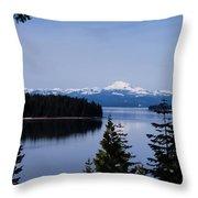 Mt Lassen 2 Throw Pillow