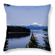Mt Lassen Throw Pillow