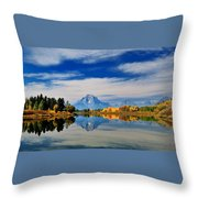Mt. Moran Throw Pillow