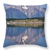 Mt. Moran Throw Pillow
