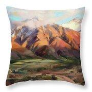Mt Nebo Range Throw Pillow