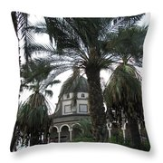 Mt Of Beatitudes Throw Pillow