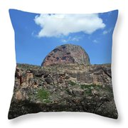 Mt Poi Throw Pillow