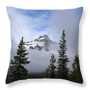 Mt. Rainer Throw Pillow