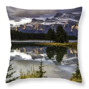 Mt. Rundell  Throw Pillow