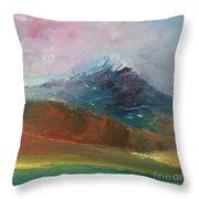 Mt Shasta 10 Throw Pillow