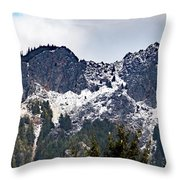 Mt. Si South View Throw Pillow