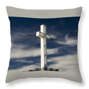 Mt. Soledad Veterans Memorial Throw Pillow