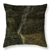 Mt St Benidict Waterfall Throw Pillow