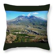 Mt. St. Helens 2005 Throw Pillow