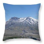 Mt. St.helens 2018 Throw Pillow