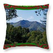 Mt Tamalpais Framed 5 Throw Pillow