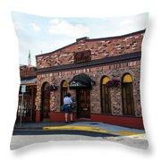 Mt Vernon Mail Throw Pillow