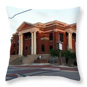 Mt Zion Baptist Church Throw Pillow