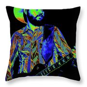 Mtb77#67 Enhanced In Cosmicolors Throw Pillow