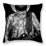 Mtb77#68 Enhanced Bw Throw Pillow