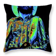 Mtb77#74 Enhanced In Cosmicolors Throw Pillow