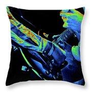 Mtb77#79 Enhanced In Cosmicolors Crop 2 Throw Pillow