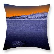Mucubaji Lake Throw Pillow