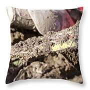 Mud Is Love Throw Pillow
