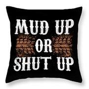 Muduporshutup Throw Pillow