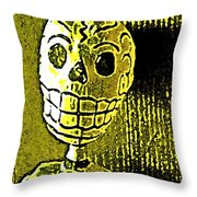 Muertos 1 Throw Pillow