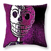 Muertos 3 Throw Pillow