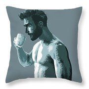 Mug Throw Pillow
