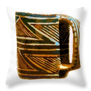 Mug Of The Anasazi Throw Pillow
