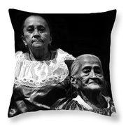 Mujeres Salvadorenas  Throw Pillow
