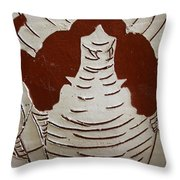Mukama Atulabba - God Sees Us - Tile Throw Pillow
