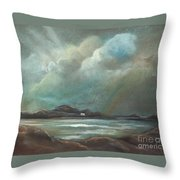 Mull From Iona Throw Pillow