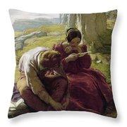 Mulready: Sonnet, 1839 Throw Pillow