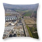 Multi Use Of Coastal Property Throw Pillow