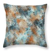 Multicolor Texture 001 Throw Pillow