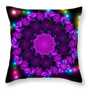 Multicolored Mosaica Throw Pillow
