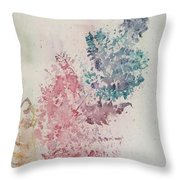 Multicolour Fern Throw Pillow